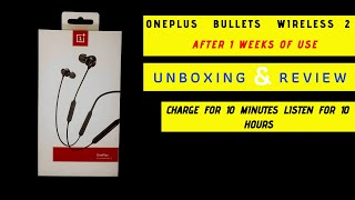 OnePluse Bullet Wirless 2| Unboxing And Review 2019/2020 After 1 weeks of use!