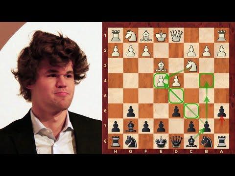 Magnus Carlsen plays like a Chess Tiger! : Perelshteyn vs Carlsen:  Isle of Man Open (2017)