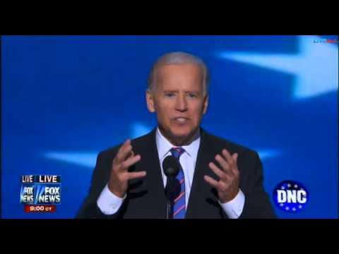 """Joe Biden Rocks DNC """"Osama Bin Laden is dead, and General Motors is alive"""""""