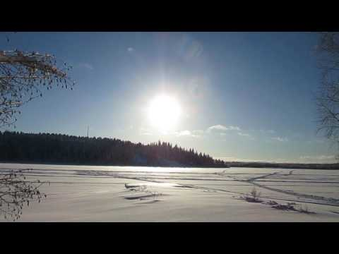 Has spring finally arrived in the north of Sweden?