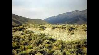 Earthquake scarp near Borah Peak, Idaho - 34 kilometres (21 miles) long!