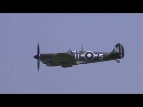 Supermarine Seafire - Shuttleworth Fly Navy Airshow 2016