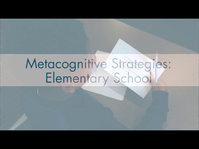 What Is Strategy Instruction
