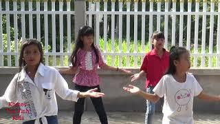 Nhạc khmer hay nhất   Loy loy Cover Dance  By Khmer Tra Vinh kids