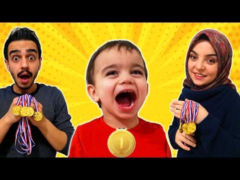Yağız Madalya Yarışı Yaptı! Eğlenceli Çocuk Videosu YED SHOW