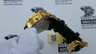 Мужские швейцарские часы INVICTA Limited Edition Pro Diver Blue Gold(, 2016-11-05T10:07:40.000Z)