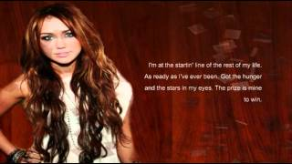 Billy Ray and Miley Cyrus - Ready, Set, Don't Go lyrics
