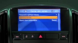 Opel Astra OPC. Modelo 2012. Ajustes e información Navi 900