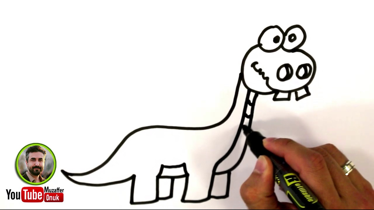 Dinozor çizimi Youtube