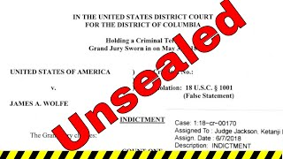 DC Arrest Made: Indictment Unsealed