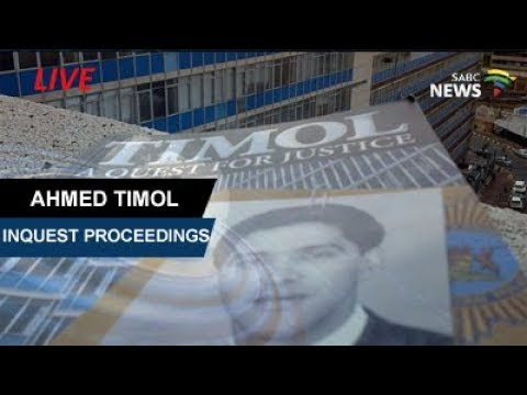 Ahmed Timol Inquest, 31 July 2017 Day 11