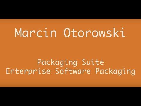 AppManagEvent 2017 session: Packaging Suite – Enterprise Software Packaging