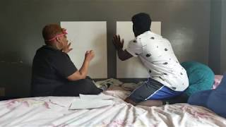 Kicking It With KJ Blindfold Drawing Challenge