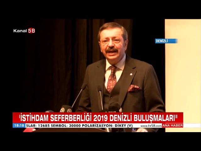 Kanal 58 DENİZLİ SEFERBER OLDU 26 03 2019