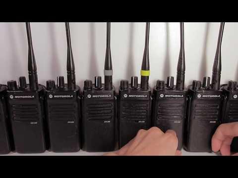 Sale on Used/Refurbished XPR 3300 Two-Way Motorola MOTOTRBO Radios
