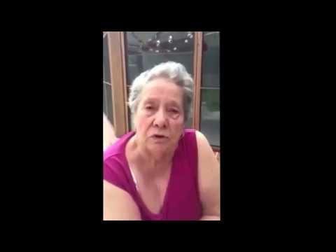 Nonna che parla in inglese