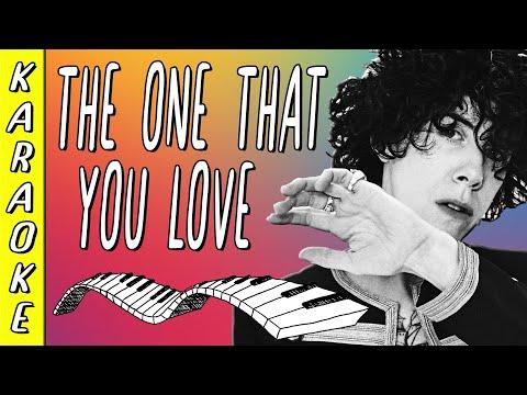 LP - The One That You Love || Karaoke ▪ Piano Instrumental ▪ Lyrics