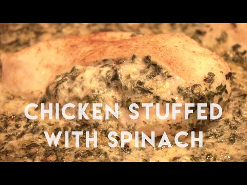 Performance Food: Chicken Stuffed with Spinach