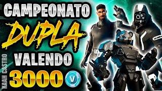 FORTNITE SALA PERSONALIZADA VALENDO 2 SKINS 1500 V-B SALA PERSONALIZADA-OUTFT-SCRIM 4 SAFE  AO VIVO