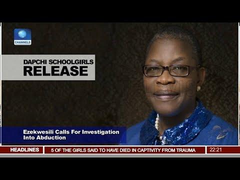 Obi Ezekwesili Calls For Investigation Into Abduction Pt.2  News@10  21/03/18