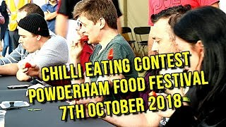 Chilli Eating Contest - Great Devon Chili Challenge 2018
