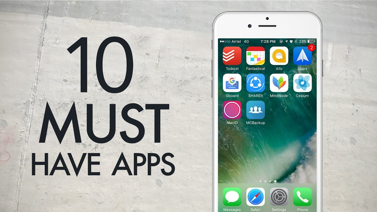 10 must have iphone apps 2016 youtube - Must Have Apps