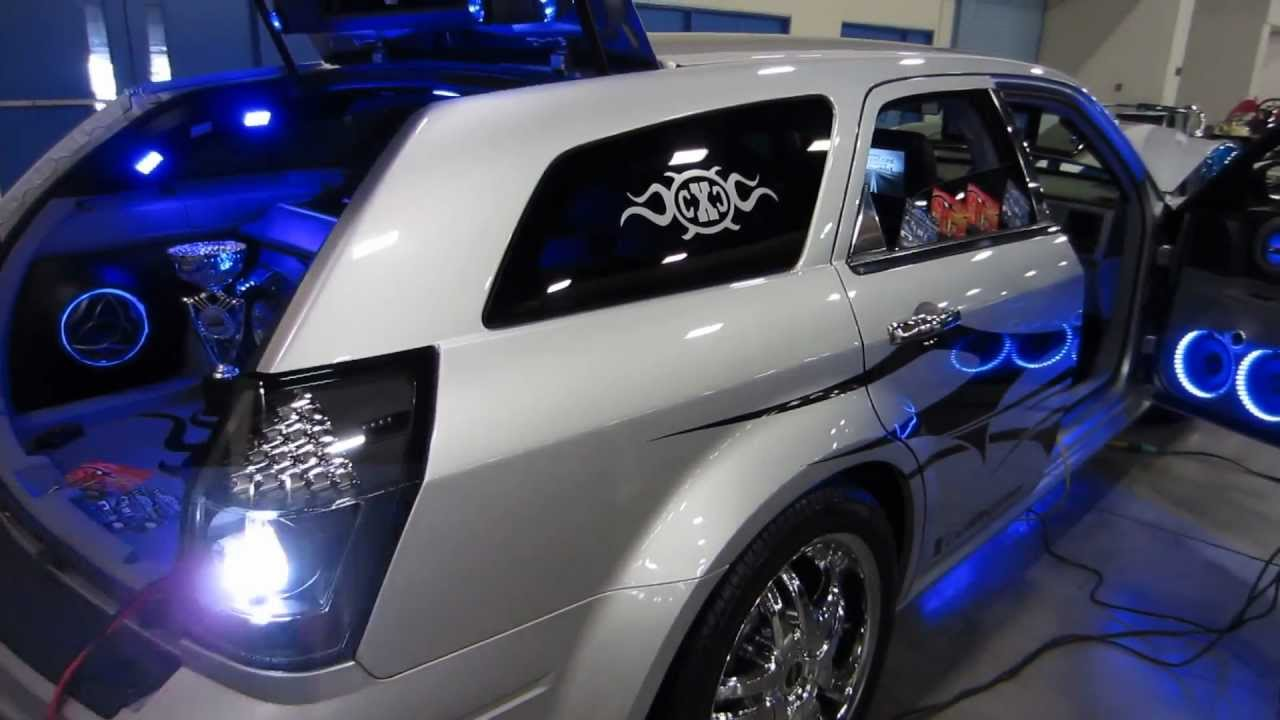 Custom Dodge Magnum...... By X Caliber Customs...... - YouTube