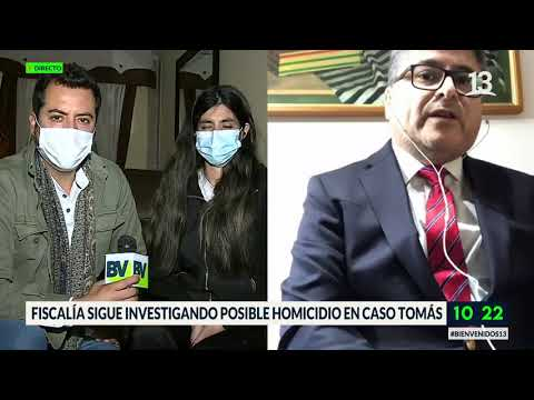 Caso Tomás: Piden sacar a fiscal Ortíz. Bienvenidos, Canal 13.