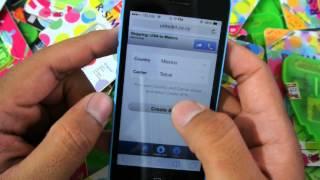 Configuración de datos móviles iPhone APN Internet PT.2