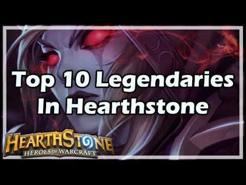 [Hearthstone] Top 10 Legendaries In HS