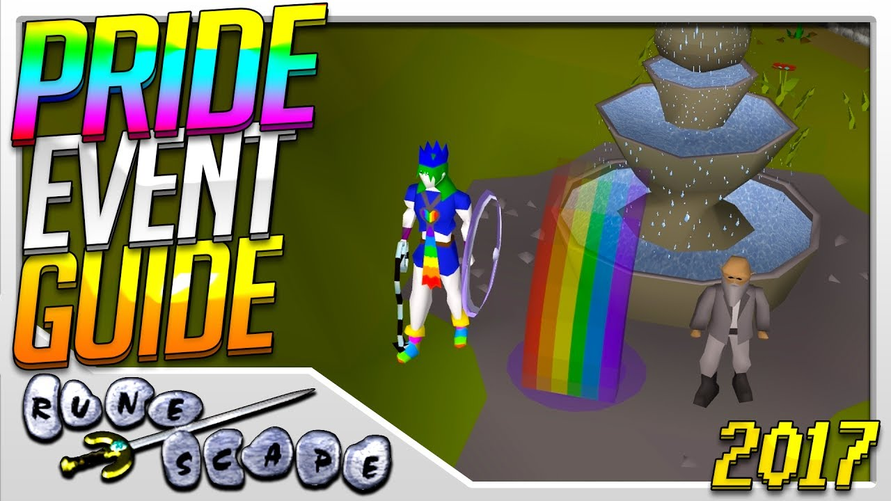 Pride Event Guide (2017) | Old School RuneScape Event Guide (OSRS ...