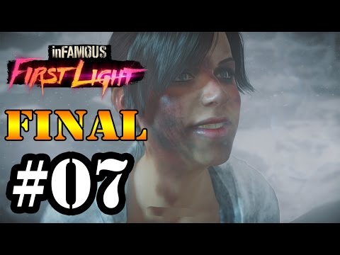 Let's Play: Infamous First Light - Parte 7[FINAL]