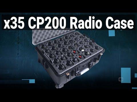 35 Motorola CP200 Radio Case - Video