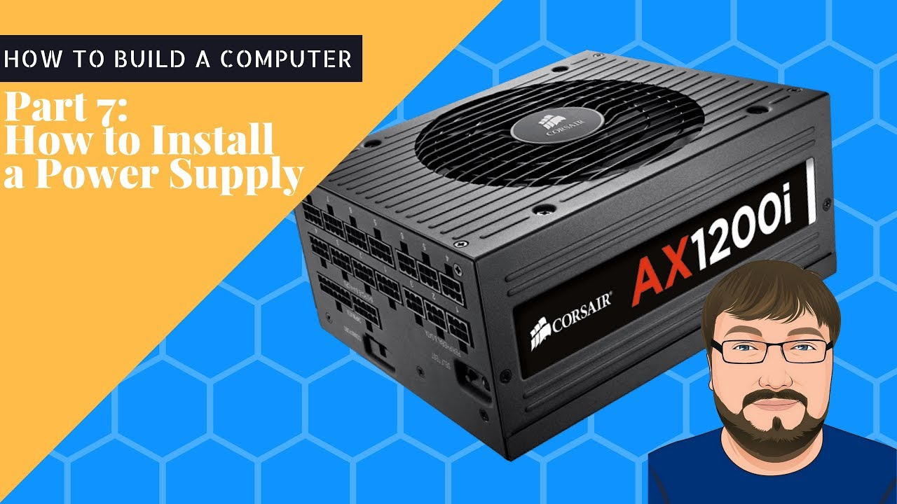 how to know from your computer your psu