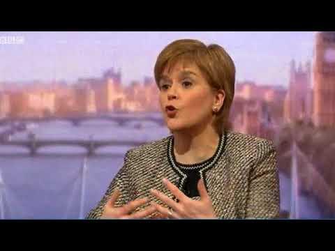 Nicola Sturgeon on the Marr Show (14.01.18)