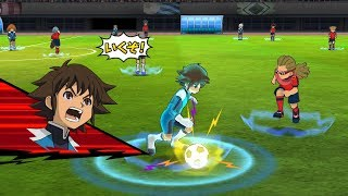 Inazuma Eleven Go Strikers 2013! Dark Emperors Vs Sekai Senbatsu Kai Wii 1080p (Dolphin/Gameplay)