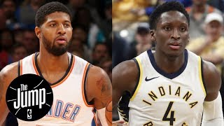 Paul George or Victor Oladipo: More pressure to ball out at Thunder-Pacers? | The Jump | ESPN