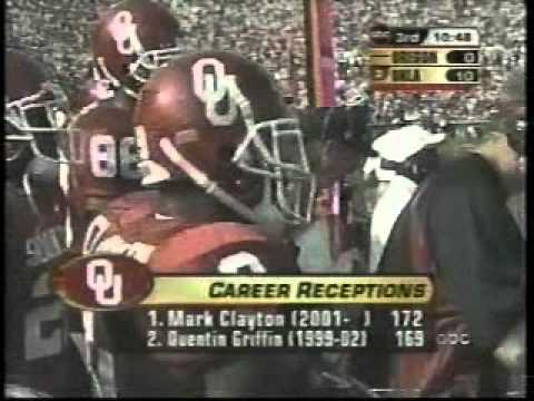 #2 Oklahoma Sooners vs. Oregon Ducks - 2004