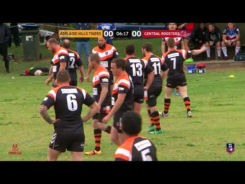 Adelaide Hills Tigers vs Central Roosters | NRL SA | ISC Cup Preliminary Final