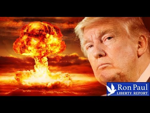 Trump To Embrace Nuclear First Strike