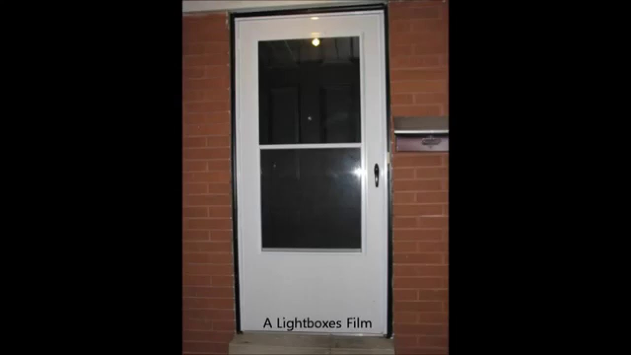 How To Install A Screen Door (Time Lapse)