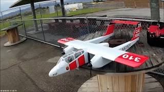 Nitroplanes OV-10A Bronco - MAIDEN FLIGHT!