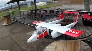 Nitroplanes OV-10A Bronco - MAIDEN FLIGHT!
