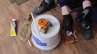 видео Как быстро устранить течь из батареи