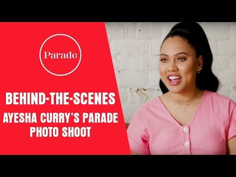 Behind-The-Scenes: Ayesha Curry Talks Pizza, Cooking With Kids & Her New TV Series