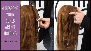 4 Reason your curls aren't holding | How to make curls last longer