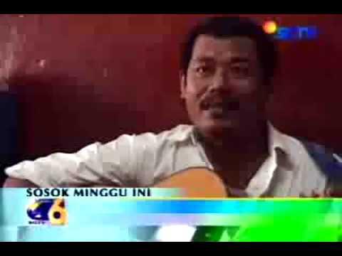 Mang Toton grintoel, Lestarikan bahasa Jawa Serang (jaseng) lewat mengamen