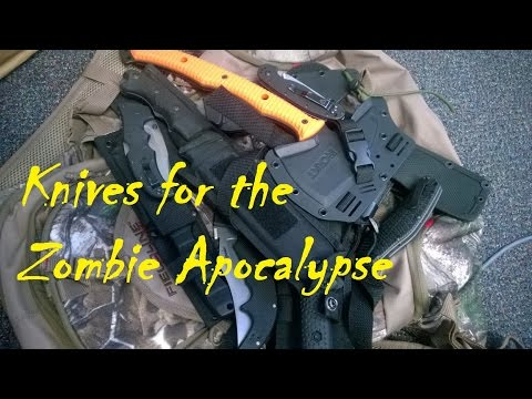 Knives For The Zombie Apocalypse