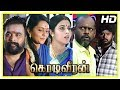 Kodi Veeran Movie Scenes | Sasikumar falls for Mahima Nambiar | Pasupathy Released from jail