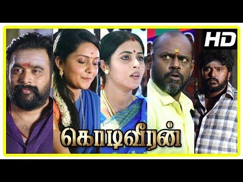 Kodi Veeran Movie Scenes | Sasikumar falls for Mahima Nambiar | Pasupathy Released from jail